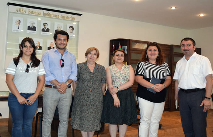 ANAS Institute of Botany will cooperate with Turkey National Botanical Garden