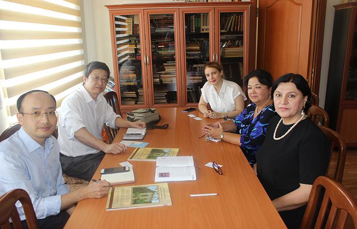 Китайские ученые заинтересованы в исследованиях, проводимых в Институте востоковедения