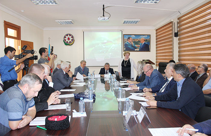 "Round table on ""Contribution of the Caspian to Eurasian integration: a sea of peace, harmony and good neighborliness"""