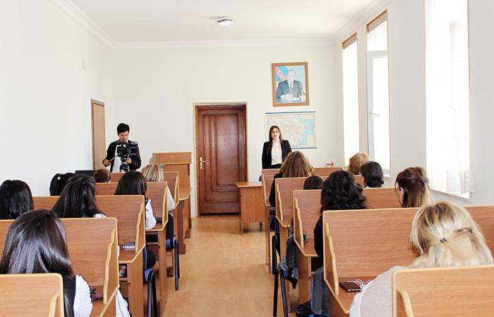 Naxçıvan Bölməsində elektron kitabxanalara həsr olunan seminar keçirilib