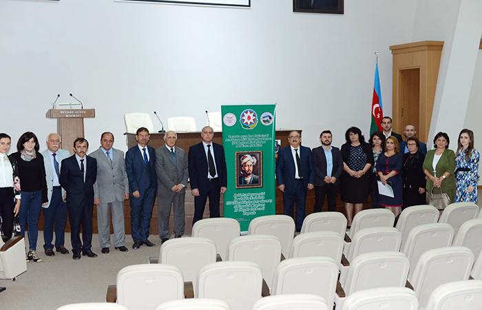 Zaqatalada İmadəddin Nəsiminin 650 illik yubileyinə həsr olunan elmi-praktik konfrans keçirilib
