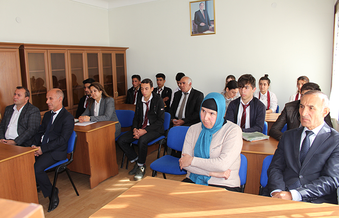 ANAS Nakhchivan Division held meeting to promote students' interest in science