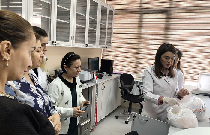"""ANAS Institute of Biophysics held """"Open Day"""""""