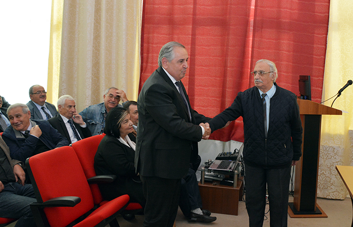 Institute of Physics celebrated 70th anniversary of academician Arif Hashimov