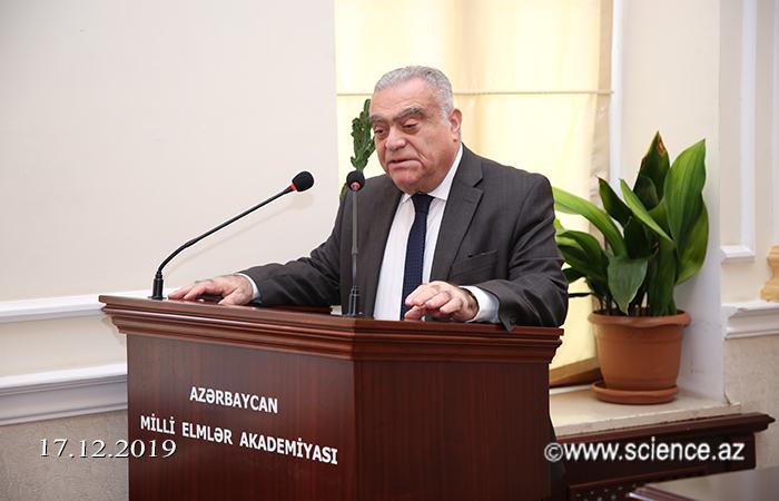 AMEA-nın müxbir üzvü Kazım Ələkbərovun 110 illik yubileyi qeyd olunub