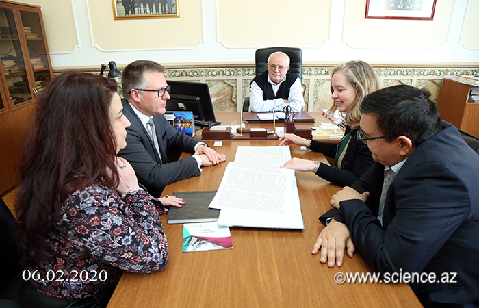 Academician Ibrahim Guliyev met with representatives of the COST Association