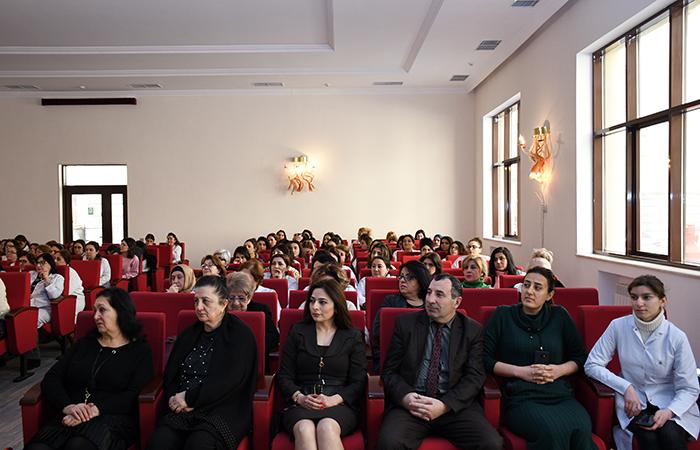 Beynəlxalq Qadın və Qızların Elmdə İştirakı Gününə həsr olunan tədbir keçirilib