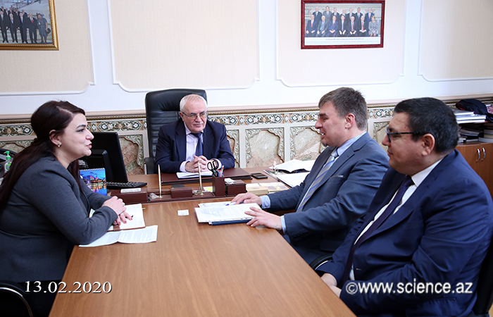 Discussed issues of creating a unified database in Azerbaijan