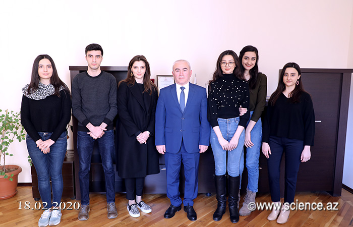 Students of AUL have a probation in the Public Relations, Press and Information Department