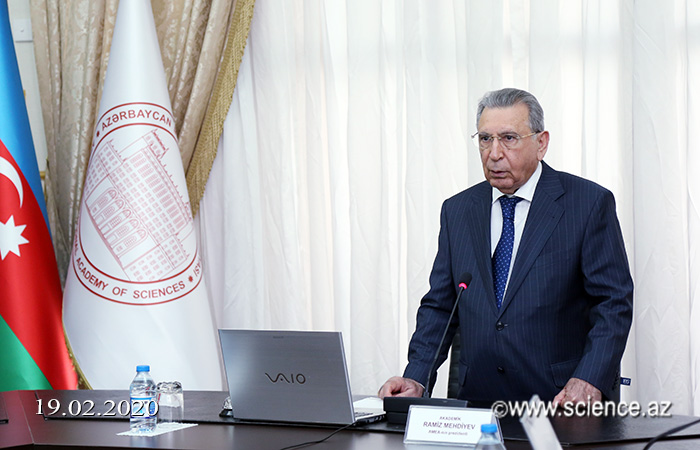 ANAS held a meeting with the chairman of the Higher Attestation Commission Famil Mustafayev