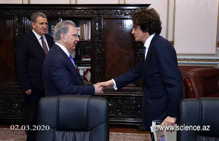 Президент НАНА встретился с руководителем известного издательского дома