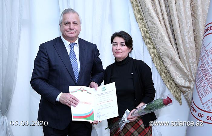 AMEA-da 8 Mart - Beynəlxalq Qadınlar Günü qeyd edilib
